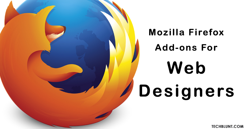 Best Mozilla Firefox Add-ons For Web Designers
