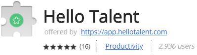 Hello Talent