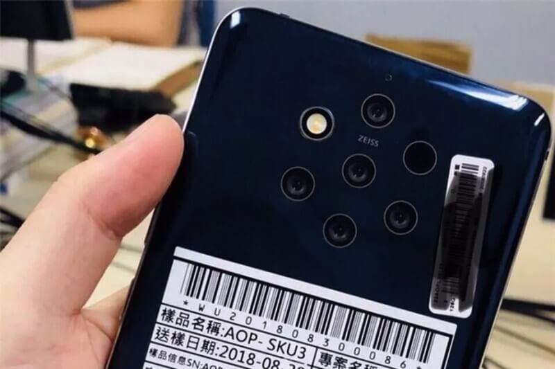 Nokia 9 With Five Cameras
