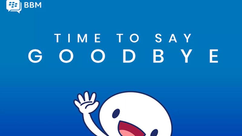 Blackberry messenger shutting down