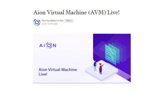 First Blockchain Virtual Machine
