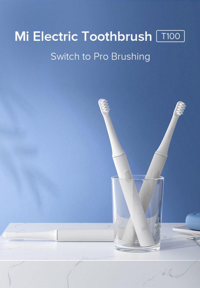mi electric toothbrush t100